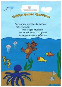 Plakat Teddy2